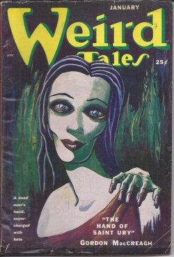WEIRD TALES: January, Jan. 1951: Weird Tales (Gordon MacCreagh; David Eynon; Allan Masterson; ...