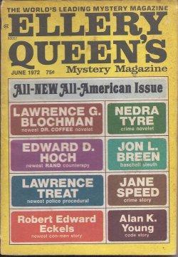 ELLERY QUEEN'S Mystery Magazine: June 1972: Ellery Queen (Robert