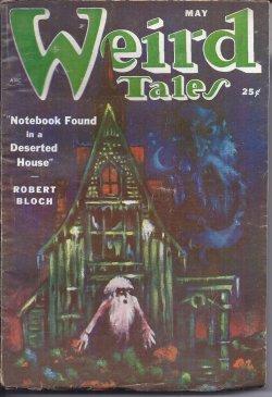 WEIRD TALES: May 1951: Weird Tales (Robert Bloch; August Derleth; Manly Wade Wellman; Edmond ...