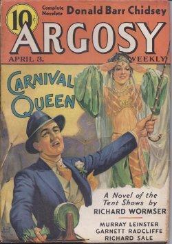ARGOSY Weekly: April, Apr. 3, 1937: Argosy (Richard Wormser;