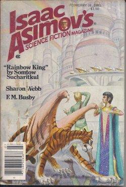 ISAAC ASIMOV'S Science Fiction: February, Feb. 16,: Asimov's (Isaac Asimov;