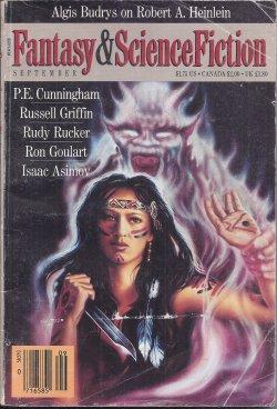 The Magazine of FANTASY AND SCIENCE FICTION: F&SF (Phyllis Eisenstein;