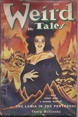 WEIRD TALES: May 1952: Weird Tales (Thorp McClusky; Arthur J. Burks; Suzanne Pickett; G. G. ...