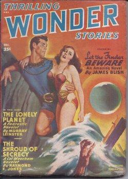 THRILLING WONDER Stories: December, Dec. 1949: Thrilling Wonder (James Blish; Raymond F. Jones; ...