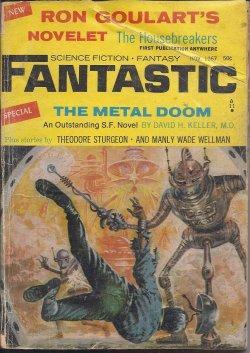 FANTASTIC Stories: November, Nov. 1967: Fantastic (Ron Goulart;