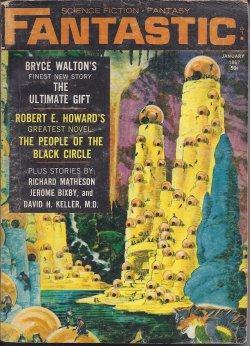 "FANTASTIC Stories: January, Jan. 1967 (""The People: Fantastic (Bryce Walton;"