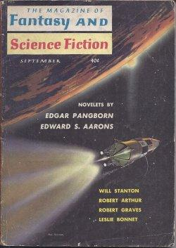 The Magazine of FANTASY AND SCIENCE FICTION: F&SF (Edgar Pangborn;
