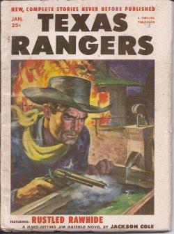 TEXAS RANGERS: January, Jan. 1955: Texas Rangers (Jackson Cole; Steuart Emery; Ted Otsu; Herbert D....