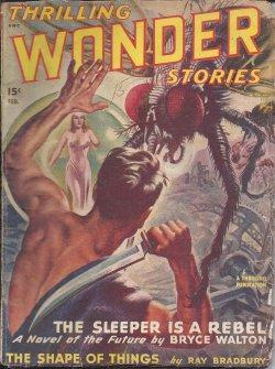 THRILLING WONDER Stories: February, Feb. 1948: Thrilling Wonder (Bryce Walton; William Fitzgerald -...