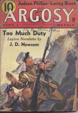 ARGOSY Weekly: September, Sept. 1, 1934: Argosy (J. D.