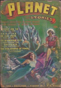 PLANET Stories: Spring 1941: Planet Stories (Ray