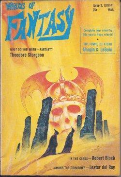 WORLDS OF FANTASY: Issue #3, Winter 1970: Worlds of Fantasy