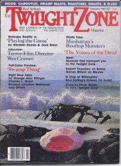 Rod Serling's THE TWILIGHT ZONE Magazine: February,: Rod Serling's Twilight
