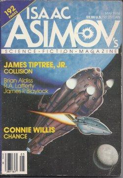 Isaac ASIMOV'S Science Fiction: May 1986: Asimov's (James Tiptree,