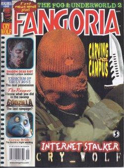 FANGORIA #246, September, Sept. 2005 (Cry Wolf; Reaper; Shadow: Dead Riot; Corpse Bride; Emily Ro...