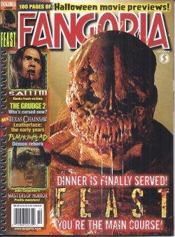 FANGORIA #257, October, Oct. 2006 (Feast; Saw III; the Grudge 2; Texas Chainsaw Leatherface: The ...