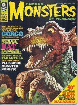FAMOUS MONSTERS of Filmland: July 1968, No. 50