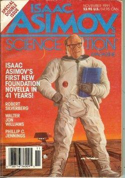 Isaac ASIMOV'S Science Fiction: November, Nov. 1991: Asimov's (Isaac Asimov;