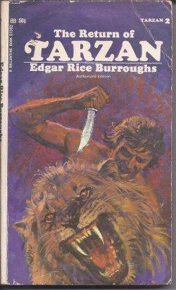 THE RETURN OF TARZAN: Tarzan #2: Burroughs, Edgar Rice