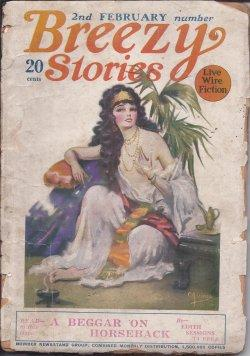 BREEZY Stories: 2nd February, Feb. 1925: Breezy (Edith Sessions Tupper; Ronald Royce; Alan Williams...