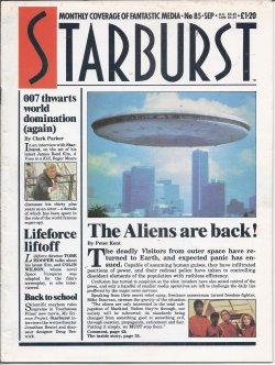 STARBURST Monthly Coverage of Fantastic Media: No. 85, September, Sept. 1985 (A View to a Kiill; ...