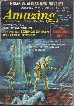 AMAZING Stories: April, Apr. 1968 (Cover and: Amazing (Brian W.
