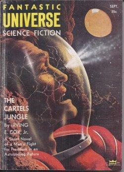 FANTASTIC UNIVERSE: September, Sept. 1955: Fantastic Universe (Irving