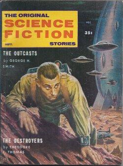 The Original SCIENCE FICTION Stories: September, Sept.: Original Science Fiction