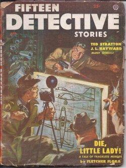 FIFTEEN DETECTIVE Stories: April, Apr. 1954: Fifteen Detective (Fletcher