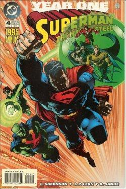 SUPERMAN: The Man of Steel; 1995 Annual: (May) #4 (Year One)