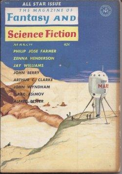 The Magazine of FANTASY AND SCIENCE FICTION: F&SF (Zenna Henderson;