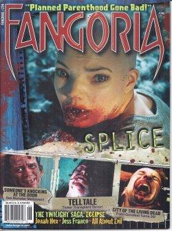 FANGORIA #294, June 2010 (Splice; Tell Tale; Someone's Knocking at the Door; Game Over; Animals; ...