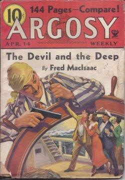 """ARGOSY Weekly: April, Apr. 14, 1934 (""""Brother: Argosy (Anthony M."""
