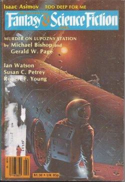 The Magazine of FANTASY AND SCIENCE FICTION: F&SF (Michael Bishop