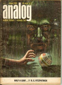ANALOG Science Fiction/ Science Fact: August, Aug.: Analog (R. C.