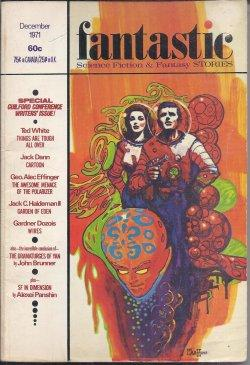 "FANTASTIC Stories: December, Dec. 1971 (""The Dramaturges: Fantastic (John Brunner;"
