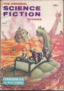 The Original SCIENCE FICTION Stories: July 1957: Original Science Fiction