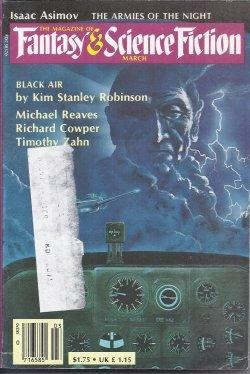 The Magazine of FANTASY AND SCIENCE FICTION: F&SF (Michael Reeves;