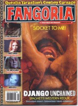 FANGORIA #319, January, Jan. 2013 (Texas Chainsaw 3D; Traci Lords; The Omega Man; Clive Barker)