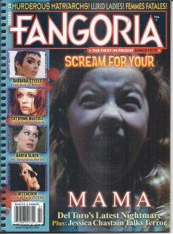 FANGORIA #320, February, Feb. 2013 (Barbara Steele; Aliens: Colonial Marines; Mama; Karen Black; ...