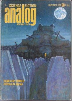 ANALOG Science Fiction/ Science Fact: November, Nov.: Analog (Clifford D.