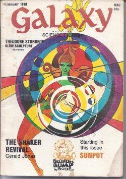 "GALAXY Science Fiction: February, Feb. 1970 (""Downward: Galaxy (Gerald Jonas;"