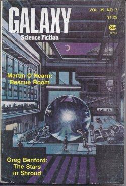 "GALAXY Science Fiction: September, Sept. 1978 (""The: Galaxy (Martin O'Hearn;"