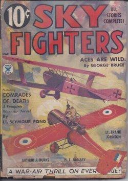 SKY FIGHTERS: March, Mar. 1935: Sky Fighters (Lieut.