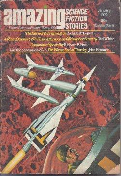 AMAZING Stories: January, Jan. 1972: Amazing (Ted White;