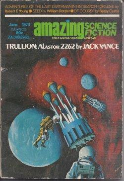 "AMAZING Science Fiction: June 1973 (""Trullion -: Amazing (Robert F."