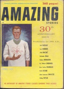 AMAZING Stories: April, Apr. 1956: Amazing (Warner Van