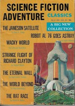 SCIENCE FICTION ADVENTURE CLASSICS: No. 8, Fall: Science Fiction Adventures