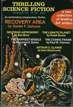THRILLING SCIENCE FICTION: December, Dec. 1974: Thrilling Science Fiction