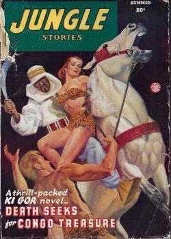 JUNGLE Stories: Summer 1946: Jungle Stories (John
